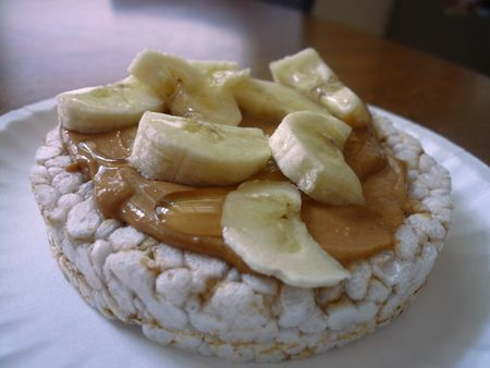 Rice Cake With Peanut Butter And Banana Calories